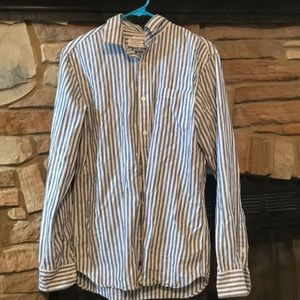 Old Navy Striped Dress Shirt